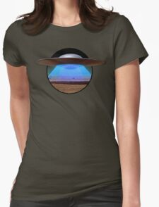 Arriving on Altair IV Womens Fitted T-Shirt
