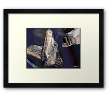 ASTEROID AGE  Framed Print