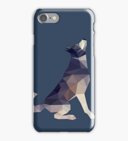 Husky Dog Illustration iPhone Case/Skin