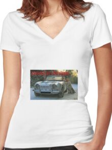 Classics at Christmas Women's Fitted V-Neck T-Shirt