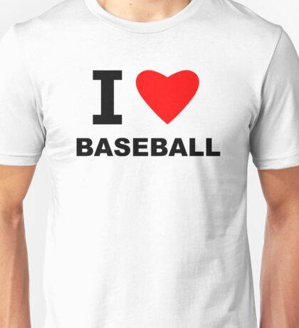 I Heart Baseball Unisex T-Shirt