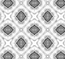 black and white pattern by Heidivaught