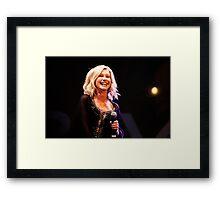 Olivia Newton-John  Framed Print