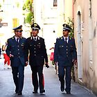 Three Carabinieri All Unwary by Francis Drake