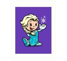Vintage Elsa Art Print