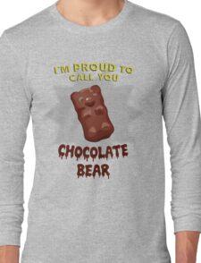 Scrubs - Chocolate Bear Long Sleeve T-Shirt