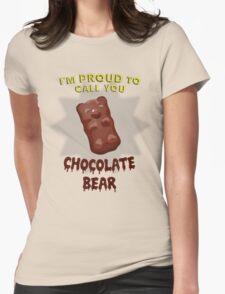 Scrubs - Chocolate Bear Womens Fitted T-Shirt