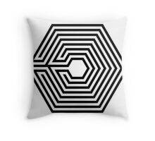 EXO - Overdose (Black) Throw Pillow