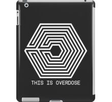 Too much, your love (White) iPad Case/Skin