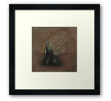 Dying Slowly Long After the Battle is Over Framed Print