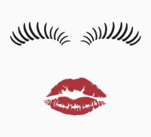 Eye Lashes and Kiss by sweetsixty