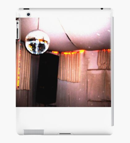 retro disco booth iPad Case/Skin