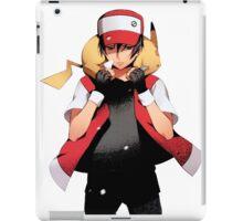 Red & Pikachu iPad Case/Skin