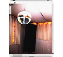 retro disco ball booth iPad Case/Skin