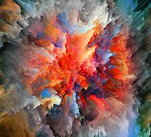 COLORS ABSTRACT by Maria Mazhirina