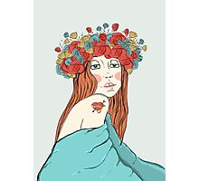 Blooming head Photographic Print