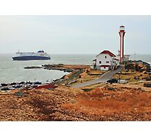Nova Star Ferry Rounds Cape Forchu for the First Time Photographic Print