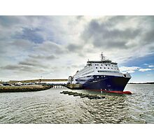 Nova Star Ferry at the Lobster Rock Wharf Photographic Print