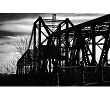 Rail Bridge Photographic Print