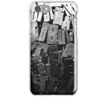 Words iPhone Case/Skin