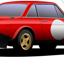 Fulvia HF  Sticker