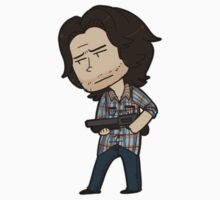 SPN Sam Winchester Sticker by KingCr0wley