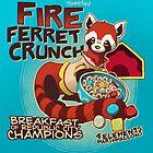 Fire Ferret Crunch by dooomcat