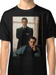 The Godfather - Al Pacino, Robert De Niro Classic T-Shirt