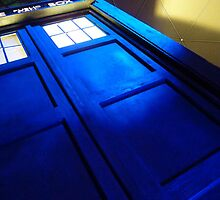 doctor who tardis case by Audrey Metcalf