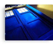doctor who tardis case Canvas Print