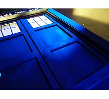 doctor who tardis case Photographic Print