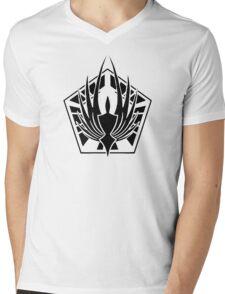 BSG Colonial Fleet Logo Mens V-Neck T-Shirt