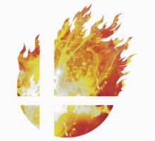 Super Smash Bros. Logo - Fire by Jp-3