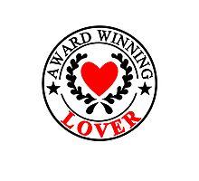 Award Winning Lover Seal Photographic Print