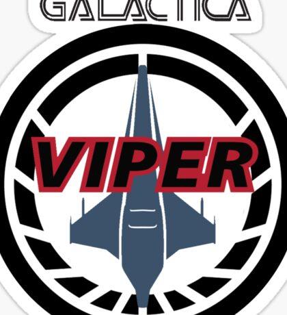 Viper Pilot Logo Sticker