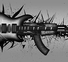 Full Metal Guitar by SwankyOctopus