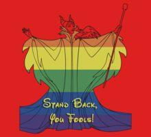 Rainbow Maleficent Red Shirt by instinCKt
