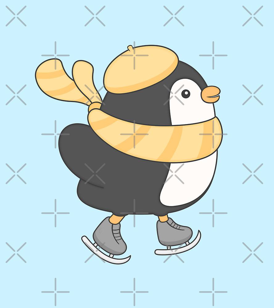minu, the penguin by kimvervuurt