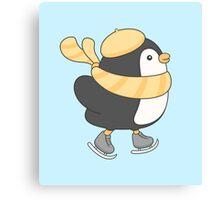 minu, the penguin Canvas Print