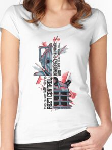Enemies Women's Fitted Scoop T-Shirt