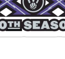 Toronto Raptors 20 year Anniversary Sticker