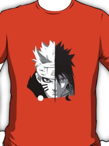 Naruto - Sasuke Cross Faces T-Shirt