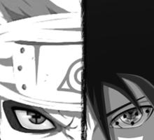 Naruto - Sasuke Cross Faces Sticker