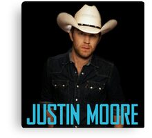 justin moore Canvas Print