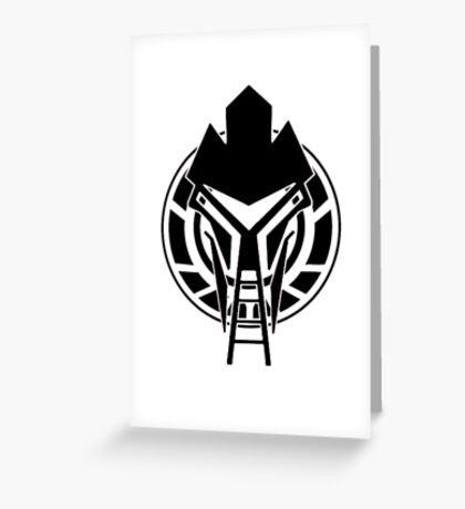 Cylon Logo Greeting Card