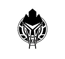 Cylon Logo Photographic Print