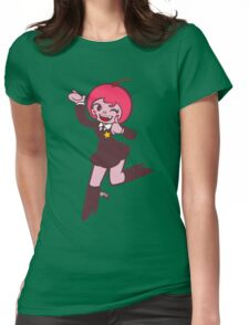 Köpke Chara Collection - Cherry Womens Fitted T-Shirt
