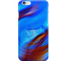 Blue To Blue  Fade Abstract  iPhone Case/Skin