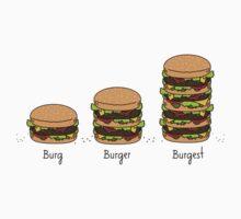 Burger explained: Burg. Burger. Burgest Kids Clothes