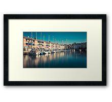 sailing ships Framed Print
